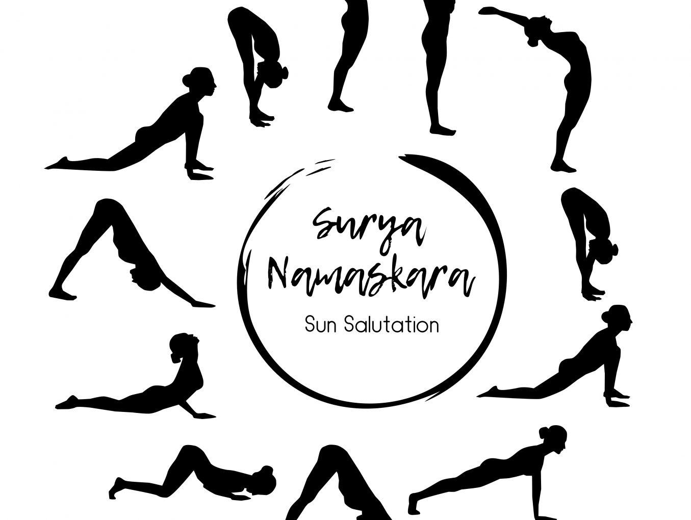 Surya Namaskar (zonnegroet)